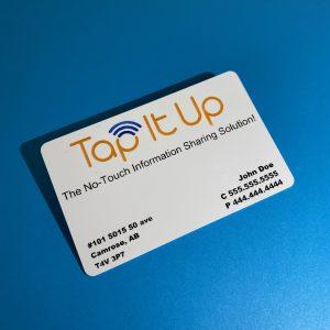 customized tapitup.ca digital business card